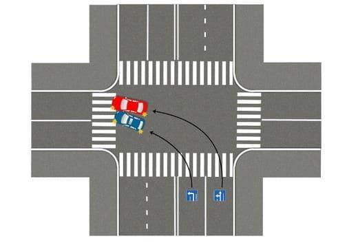 Если с правой полосы можно налево по знаку