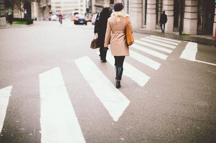 Пункт 14.3 ПДД – заканчивающие переход дороги пешеходы