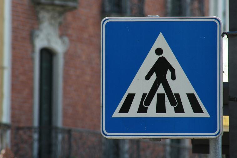 Пункт 14.1 ПДД – пропуск пешехода на переходе